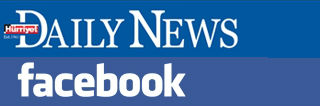 Hurriyet Daily News and facebook logos