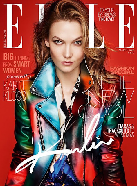 Fashion Model, @ Karlie Kloss - Kai Z Feng for ELLE UK, February 2016