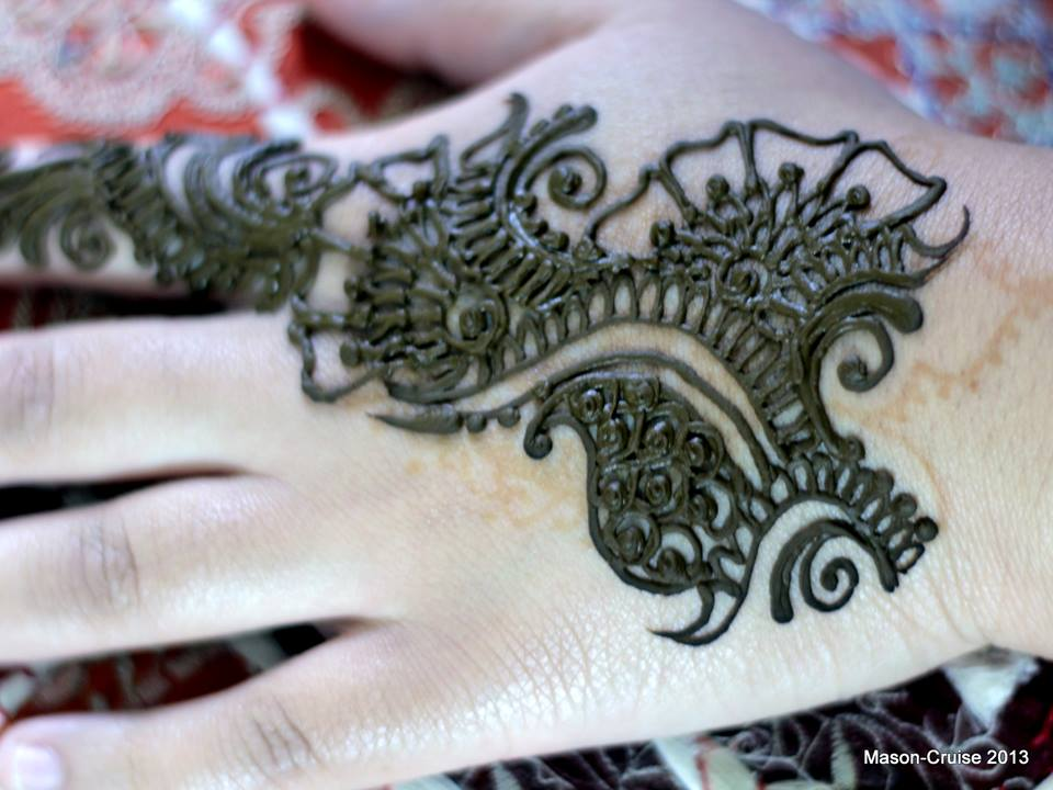 Mehndi Free Hand : Free hand mehndi quick and easy henna floral strips