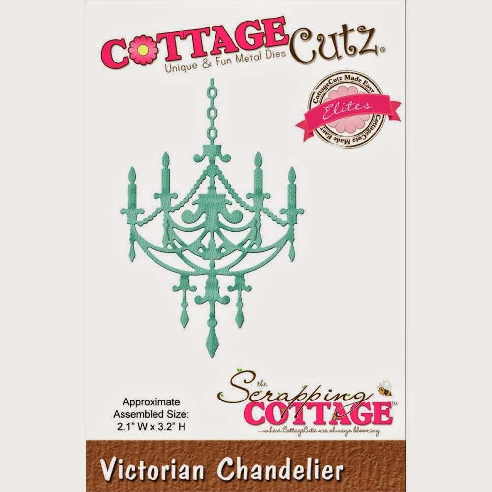 Victorian Chandelier die from COTTAGECUTZ