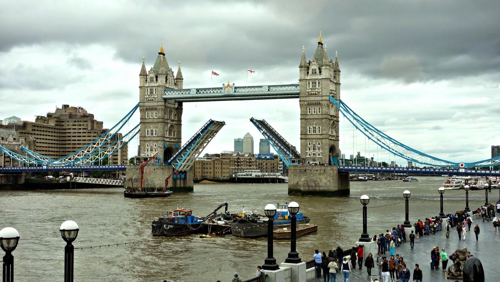 Bankside and Tower Bridge