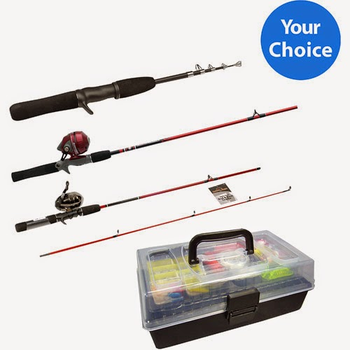 My military mommy walmart fishing rod and tackle box for Fishing kit walmart