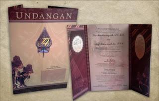 Undangan Adat Jawa, undangan Soft Cover bekasi, Undangan Batik Bekasi, Undangan Wayang Bekasi, Undangan Gunungan Bekasi