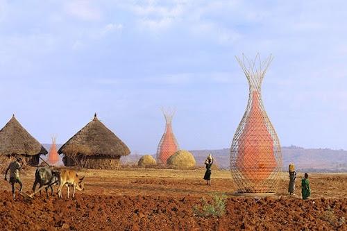 Warka Water a invenção que esta trazendo aguá para a Etiópia.