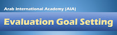 Portfolio Entries for Evaluation Goal Setting (AIA)