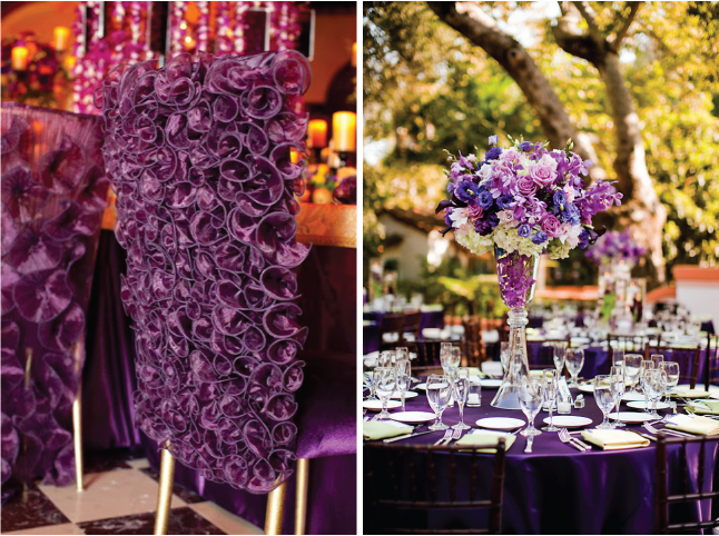 The Ultimate Guide For A Fabulous Purple Wedding - Belle the