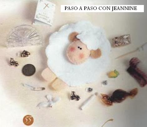 PASO A PASO CON JEANNINE: BORREGO MOLDES