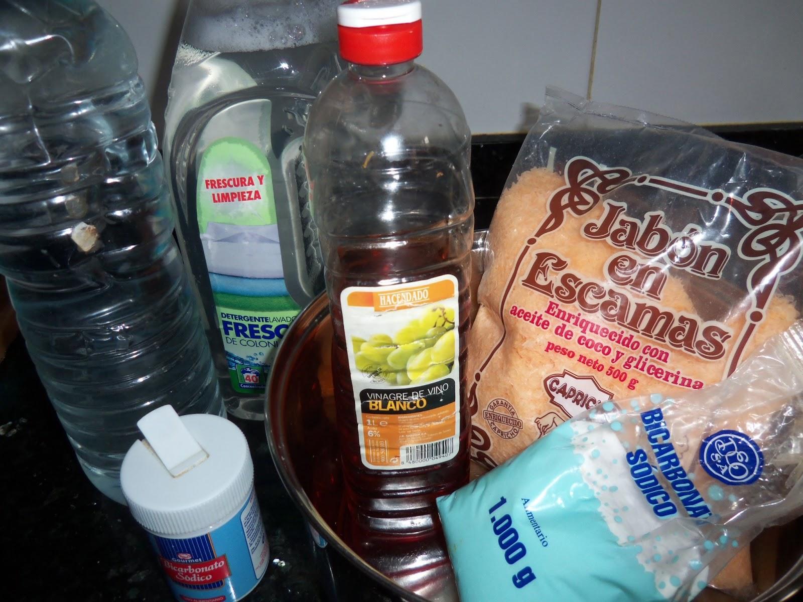 Fent poble como hacer detergente de marsella para la lavadora - Como limpiar la lavadora con vinagre y bicarbonato ...