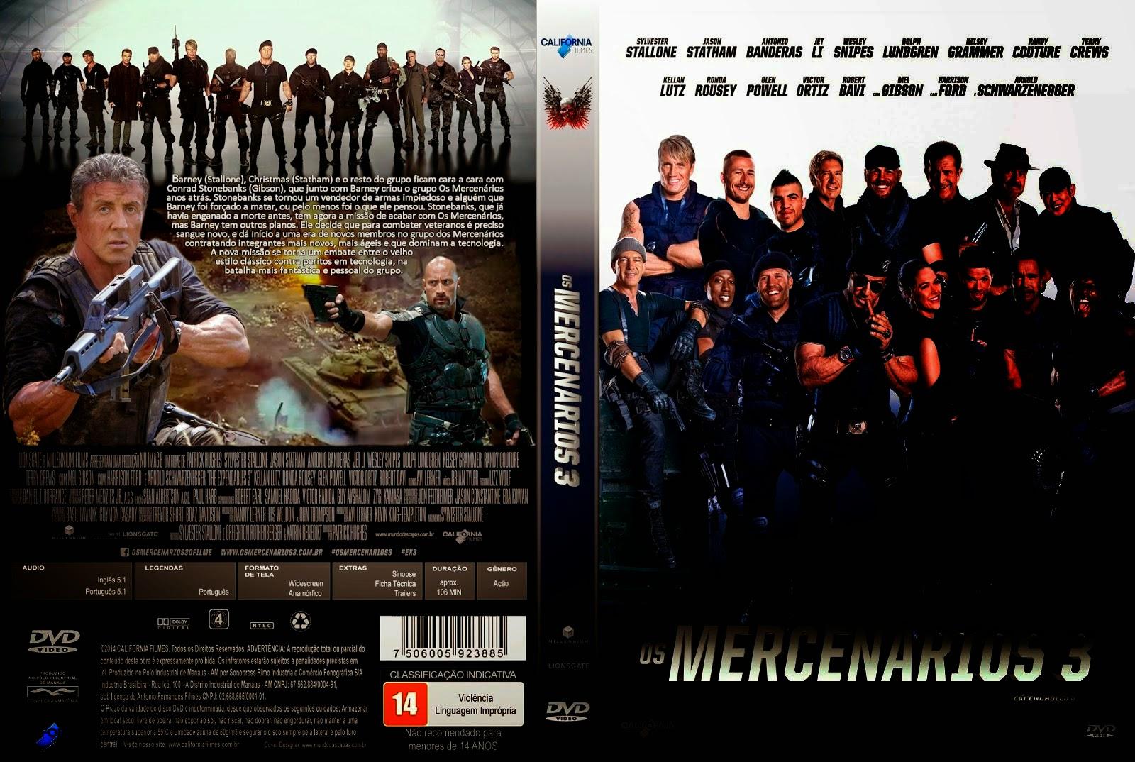 Los Mercenarios 3 DVD