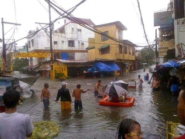 Typhoon Mario Floods