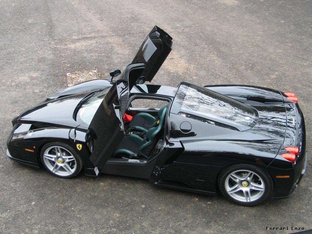 Black Ferrari Enzo Opendoor Cars Wallpapers HD