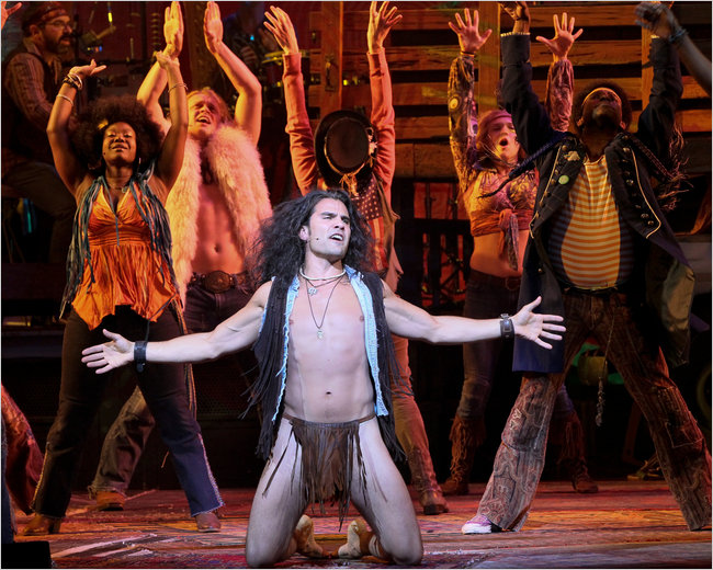 Video!! hair broadway nude scene lot the