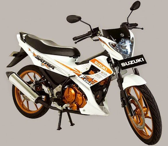 Suzuki Satria FU150 White Fighter Terbaru 2015