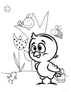 Desenhos da Galinha Pintadinha