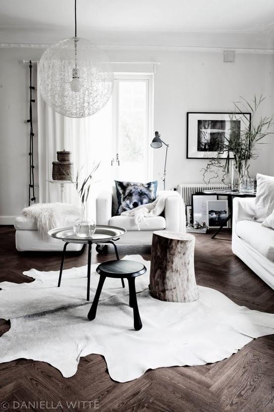 White neutral interior design