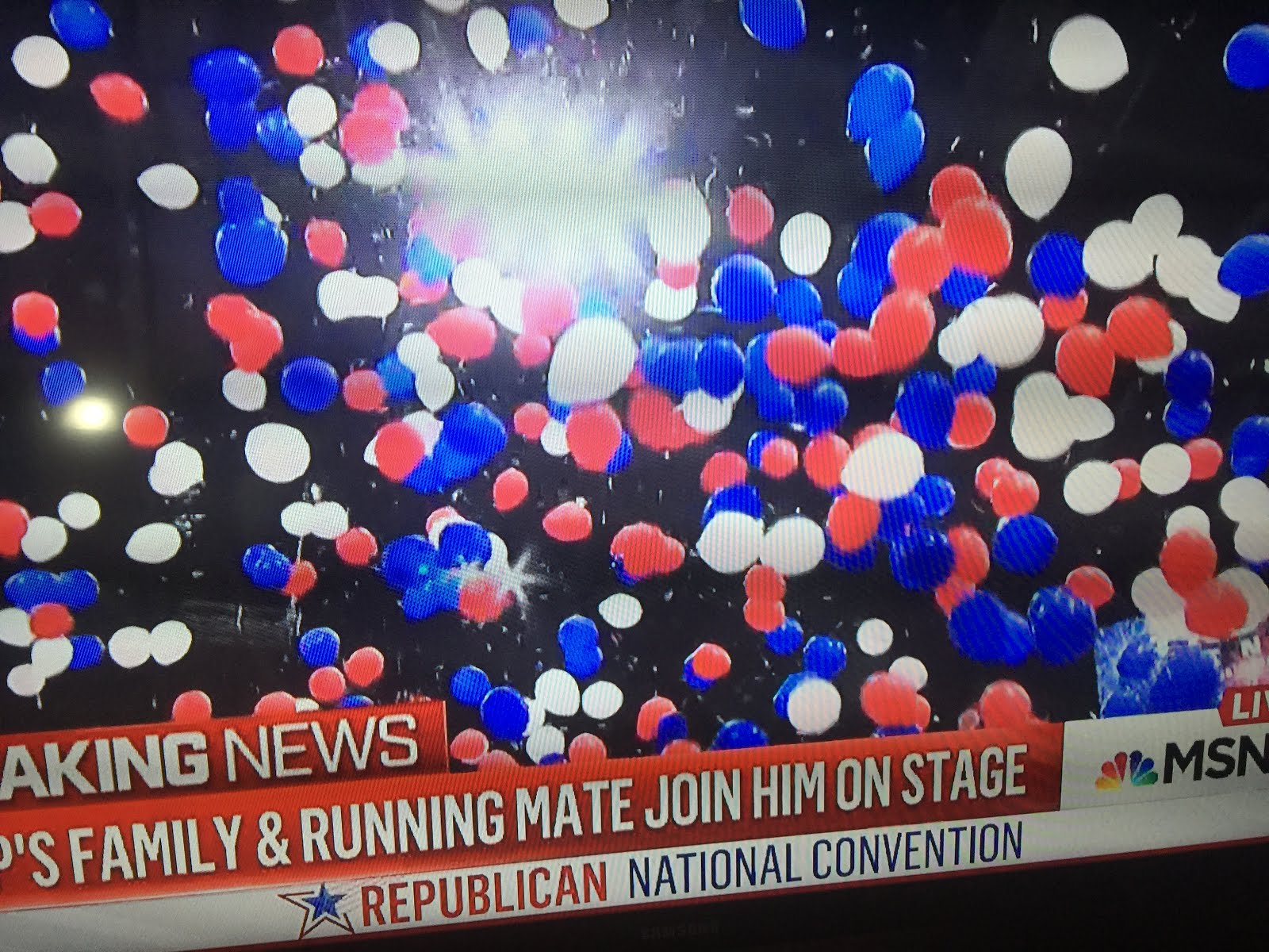 Balloons Herald Historic  Candidacy