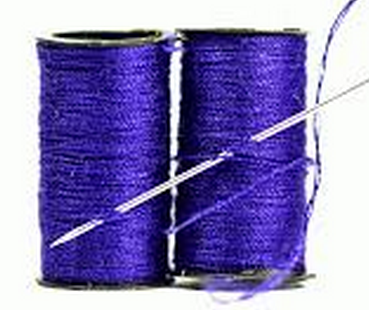 Blue Color Thread for Work Accomplishment