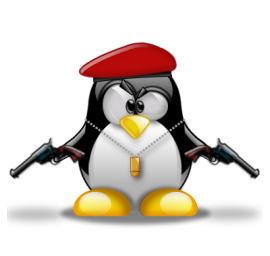 Commando penguin