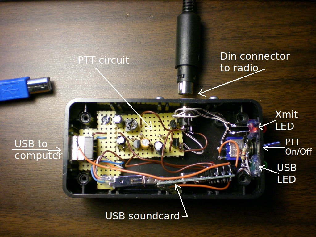 Ad7bps Radio And Food Blog 2012 Wa0uwh Electronics Ham Micro Fm Transmitter I Can Make One Cable With Straight Through Connections Not Worry Which End Is Plugged Into The Or Interface