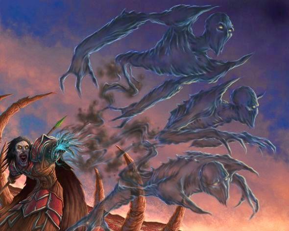 Dave Allsop deviantart ilustrações fantasia sombria games magic the gathering