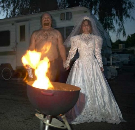 Remarkable, Trash the dress on fire made