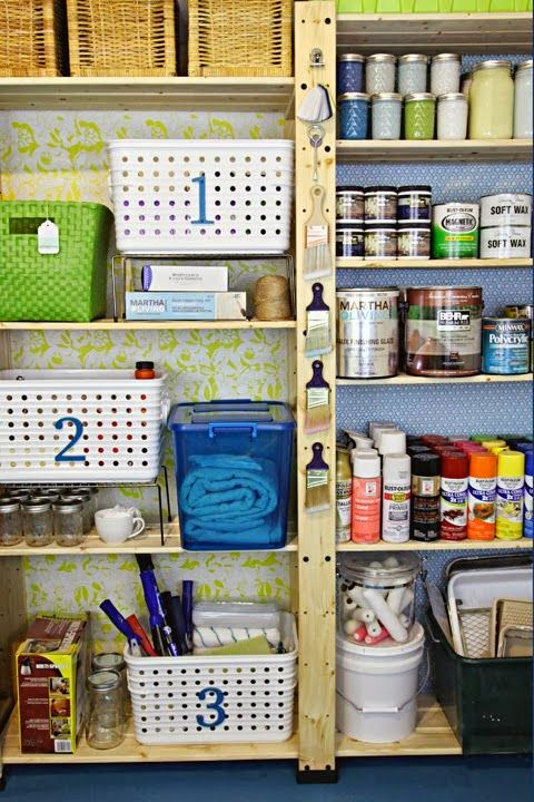 http://iheartorganizing.blogspot.ca/2013/09/our-storage-spaces-utility-room-paint.html
