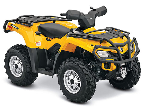 2013 Can-Am Outlander XT 400 ATV pictures. 480x360 pixels