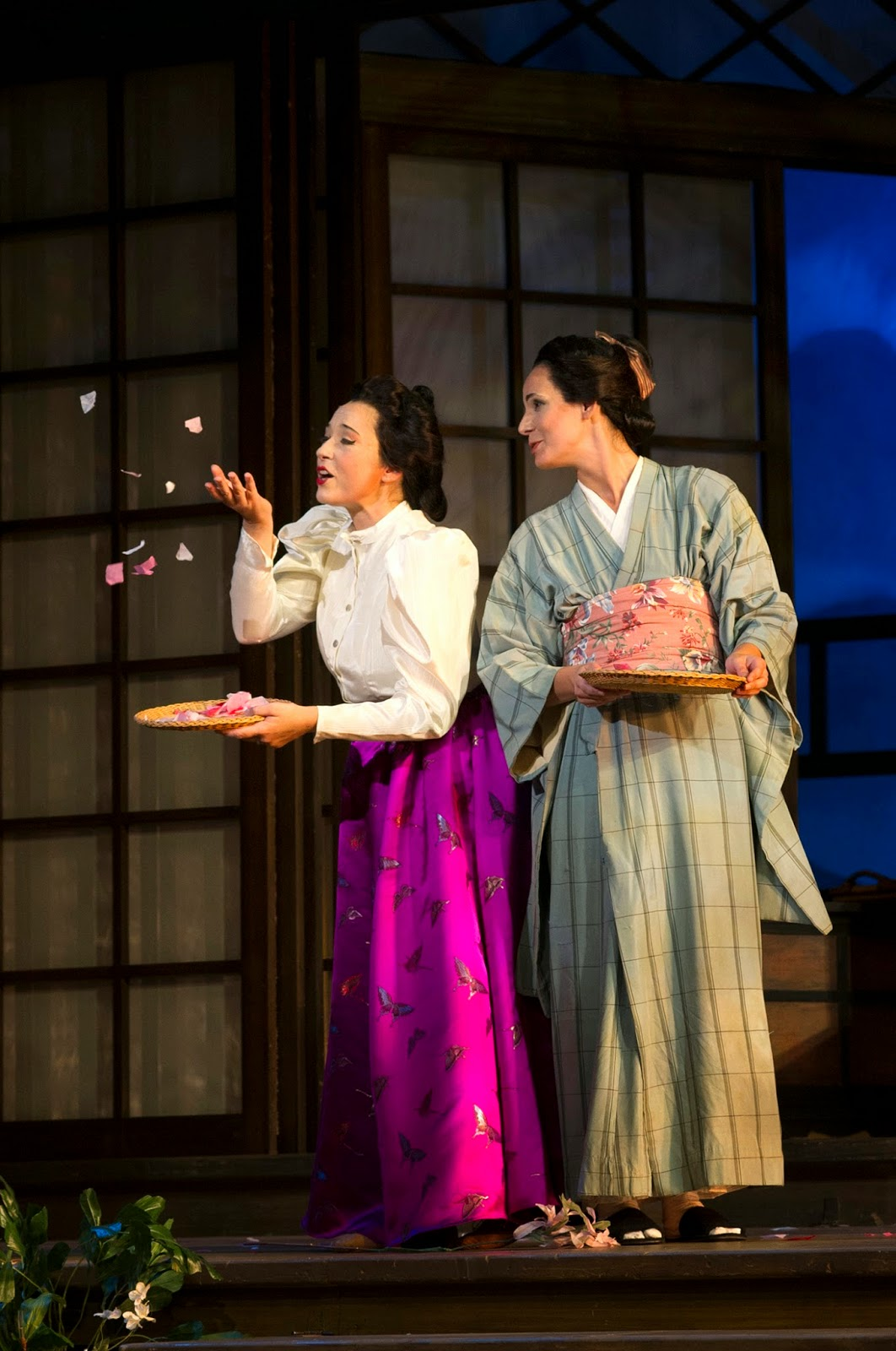 Jay Harvey Upstage In Cincinnati Opera production Puccini s opera of cu