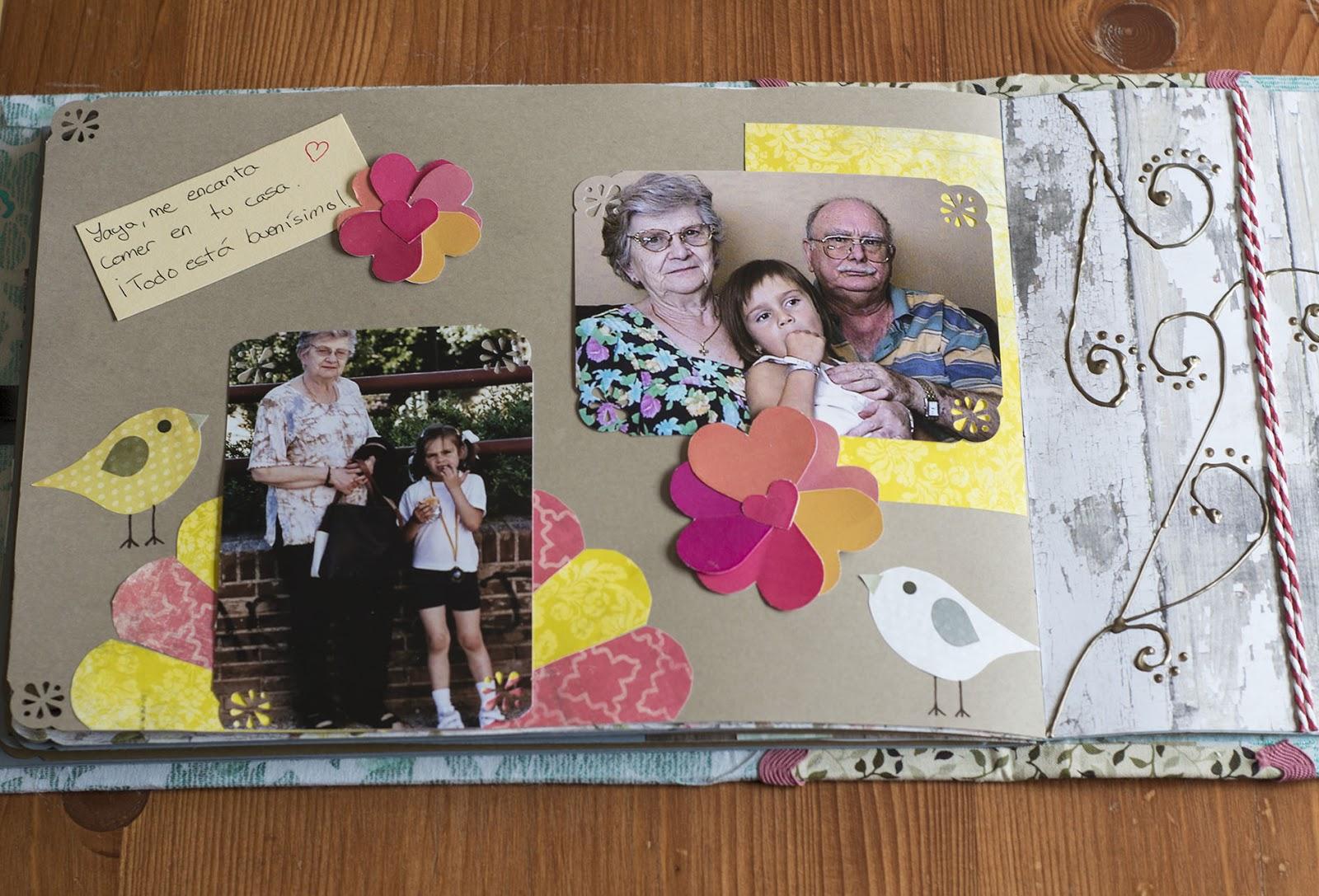 Az car galletas y muchas cosas bonitas el lbum para mi - Decorar album de fotos ...