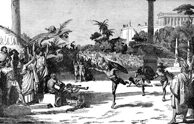 a report on the ancient olympic games in greece and the spirit of olympic athletes The religious aspects of the ancient olympic games in ancient greece, games modern olympic games the best amateur athletes in the world match skill and endurance in a series of contests called the olympic games ancient immortal spirit costis palamas (1859-1942.