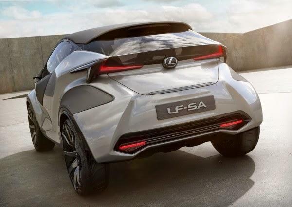 Lexus LF-SA Subcompact Concept
