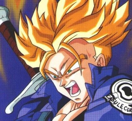 Manga artist dragon ball z kai trunks kills frieza - Trunk super sayen ...