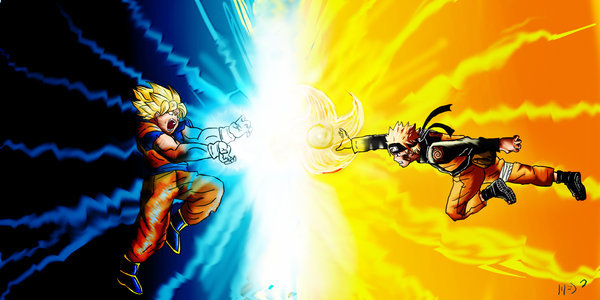 Que nivel de pelea tendria sennin rikudou en el mundo de dragon ball!! Goku-vs-naruto-