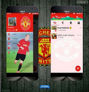 BBM Mod Clone Tema Manchester United Versi 2.10.0.31 Apk