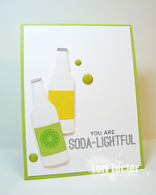 You Are Soda-Lightful card-designed by Lori Tecler/Inking Aloud-stamps and dies from My Favorite Things
