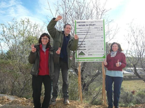 Groupe h rissons habitat cologique group autoconstruit for Obtention du permis de construire