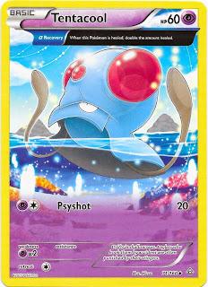 Tentacool Primal Clash Pokemon Card