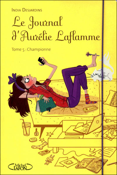 Ptite boukinette le journal d 39 aur lie laflamme tome 5 championne - Le journal d eyragues ...