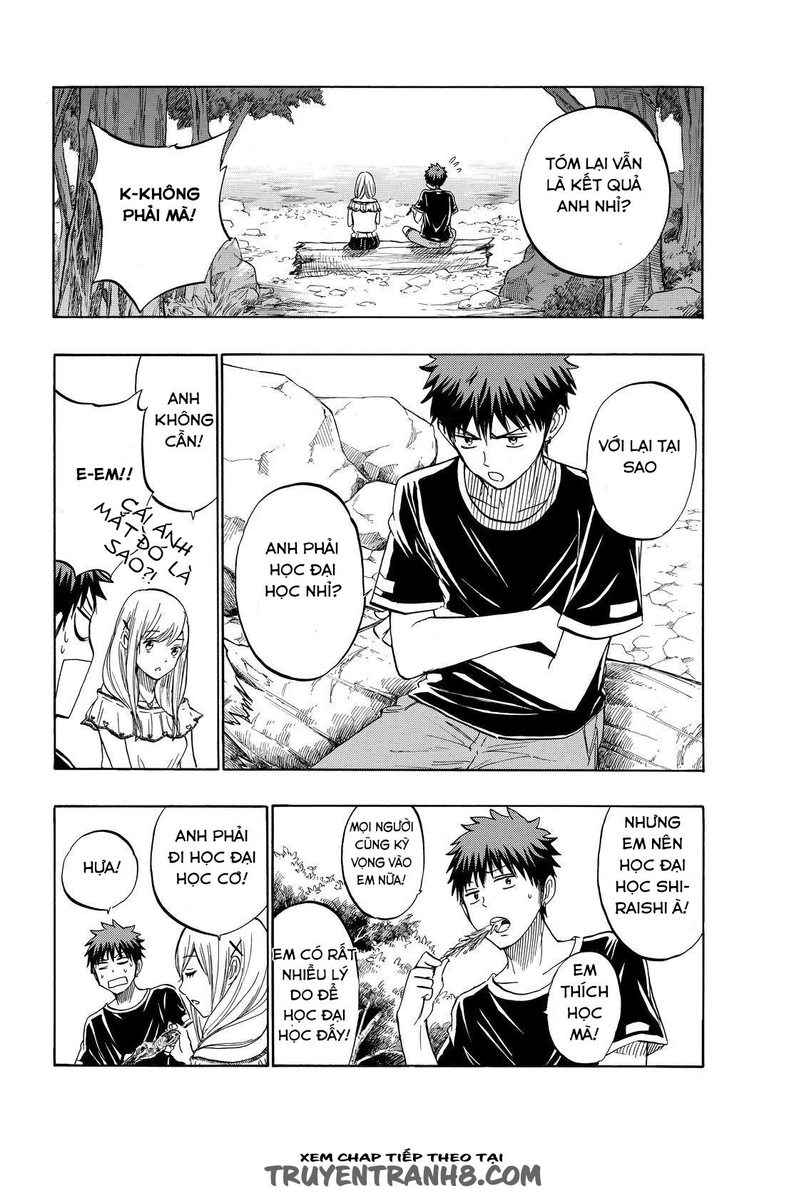 Yamada kun to 7 nin no Majo Chap 227 - Trang 16