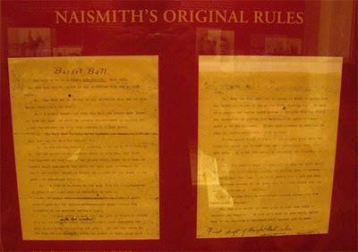 13 reglas originales Baloncesto