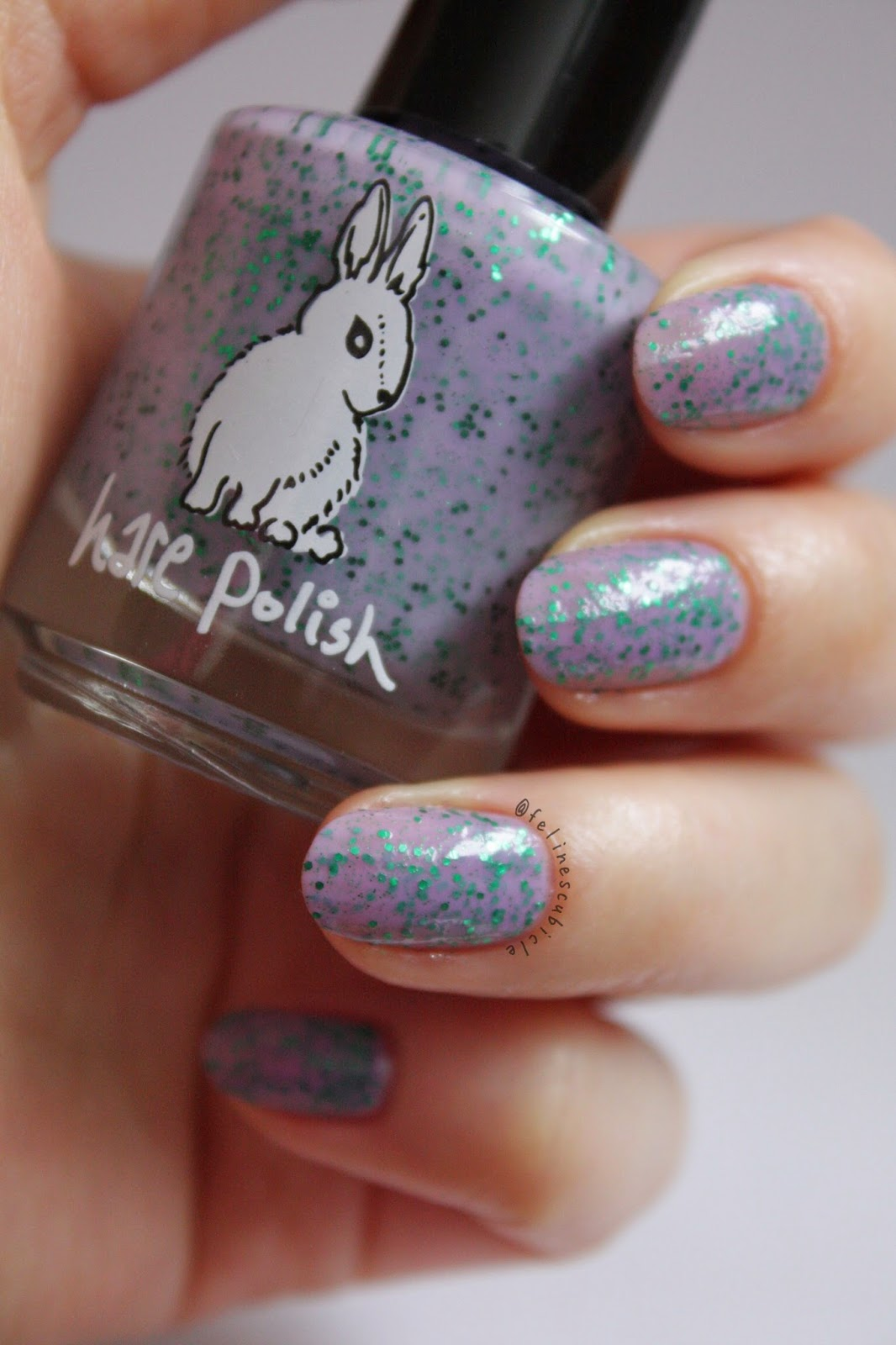 hare polish - cosmo blossoms | the feline\'s claws