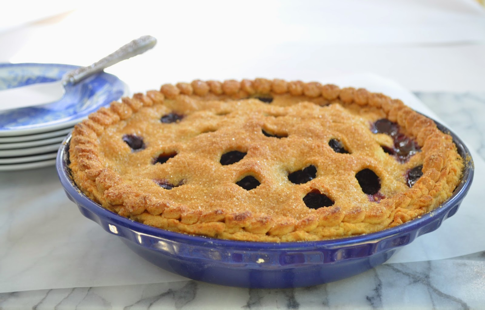 Blueberry Pie - Smell of Rosemary.