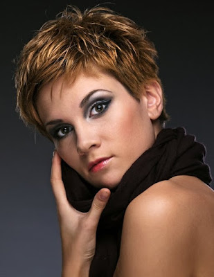 Short Choppy Hairstyles To Look Funky 1