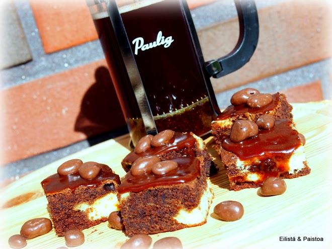 Suklaaleivokset juhlien noutopöytään - gluteeniton