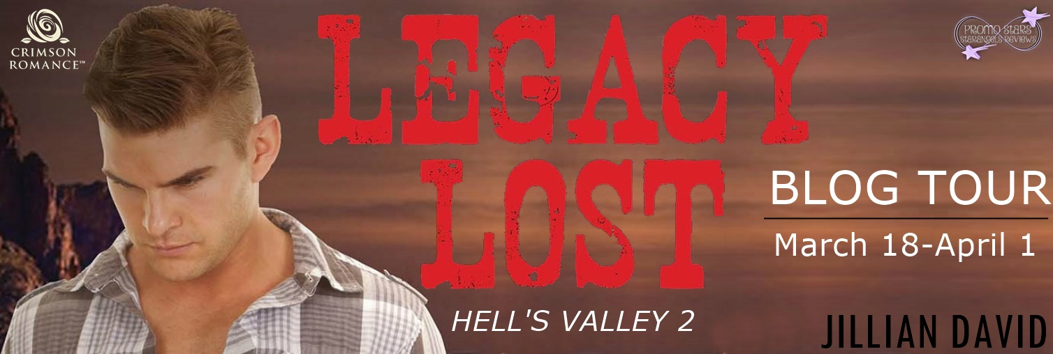 Legacy Lost Blog Tour