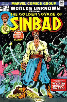 Marvel Comics, Worlds Unknown #7, Golden Voyage of Sinbad