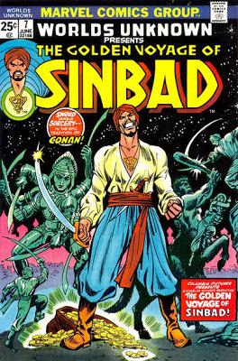 Marvel Comics, Worlds Unknown #7, Golden Voyage of Sinbad