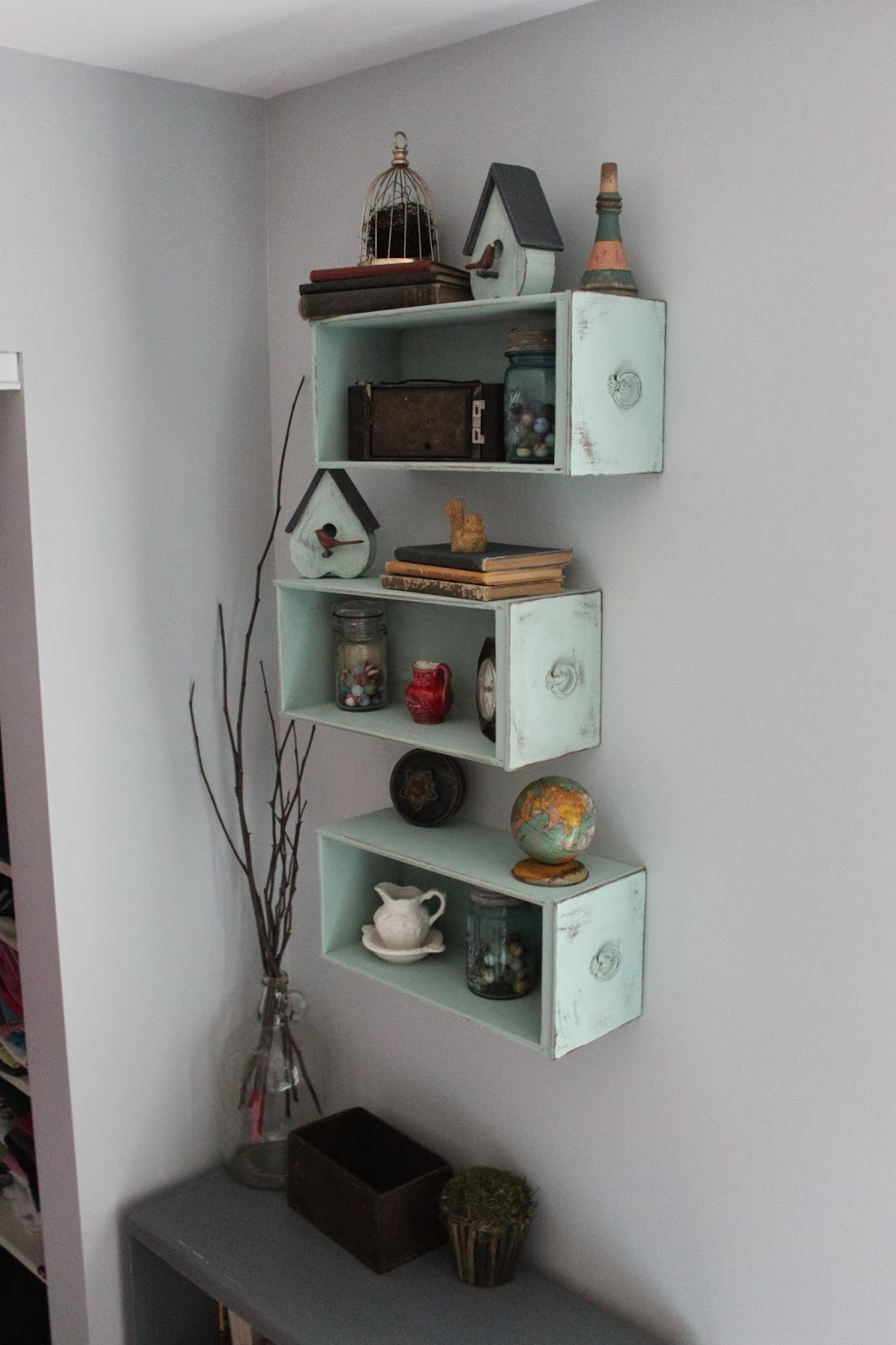 design drawer for shelves drawers with dresser wall beautiful used innovative ideas clever as life diy hanging upcycle charming of