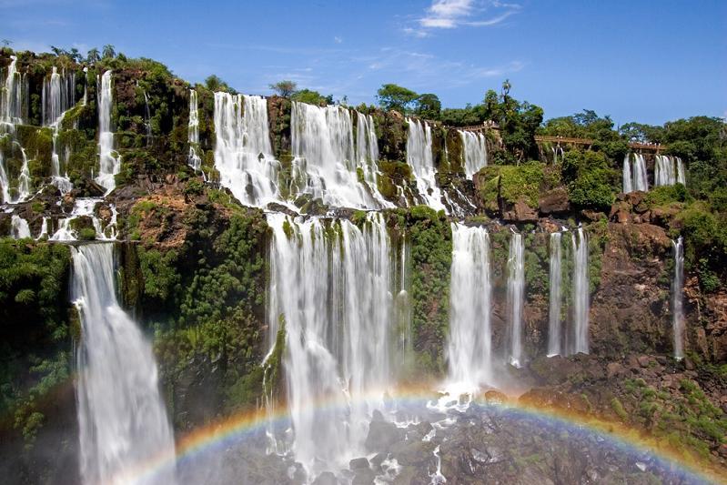 iguazu falls facts history