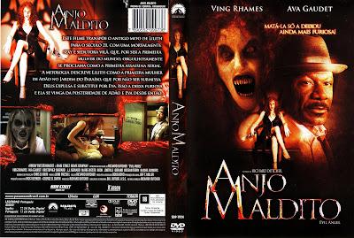 Anjo Maldito DVD Capa